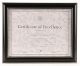 Black 11x8� Certificate Document frame by DAX/Intercraft� - sold in 3s