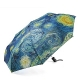 The Original STARRY NIGHT COLLAPSIBLE UMBRELLA by MoMA�