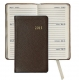 2015 Brights Mocha 5 Pocket Datebook Diary in Fine Leather by Graphic Image�
