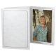 Printed MARBLE Cardstock Photo Folder Single 4x6 Vertical Frame (sold in 25s)