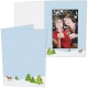 WINTER FOREST Holiday Photo Folder for 4x6 (portrait) prints