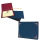 Blue Certificate Folders for 8x10 or 8�x11 Inserts (sold in 25s)