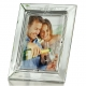 The CLADDAUGH Fine Crystal LOVE Frame by Galway� for Belleek� of Ireland