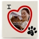 I HEART MY CAT picture frame by Our Name is Mud�