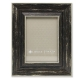 Weathered/Antique Black Angled Wood Frame by Lawrence�