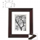 CHELSEA Dbl-Matted Chestnut Wood frame 8x10/5x7 from ARTCARE� by Nielsen�