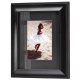 HUDSON Black-Matted Ebony-Black Wood frame 8x10/5x7 from ARTCARE� by Nielsen�