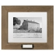 Rustic Walnut-Brown Floater 8x10/5x7 frame by Malden�