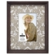 LOMA WOOD frame w/4x6 Floral Fancy mat by Malden�