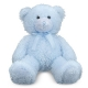 BLUE COTTON CANDY Plush Teddy Bear by Melissa & Doug�
