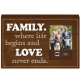 FAMILY Wood Block Frame by Prinz�