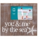 You & Me by the Sea natural-stain frame by Prinz�