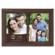 MONTEREY Espresso stained 5x7 duo frame by Prinz�