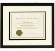 VIA VENTA special ebony-black fancy matted certificate frame by Prinz Designs�