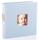 Baby-blue album with spine photo frame by Babyprints� / Pearhead�