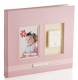 Baby pink scrapbook 12x12 album by Babyprints�