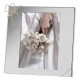 LOVE KNOTS Silver pattern 4x6 frame by Vera Wang�
