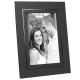 DUAL EASEL cardstock frame w/black foil border (sold in 25s)