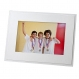 STURDY EASEL plain soft whitephoto frame (sold in 25s)