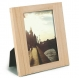 The original Umbra� SIMPLE 5x7 frame in natural wood