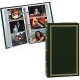 3-Ring slip-in pocket HUNTER-GREEN binder album for 300+ photos by Pioneer�